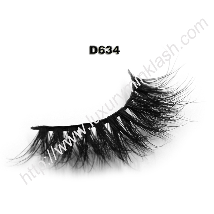 Best Mink Lashes Manufacturer D634