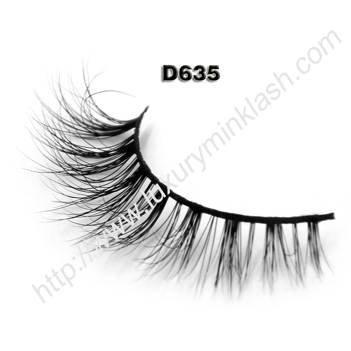 Private Label Eyelashes Wholesale D635