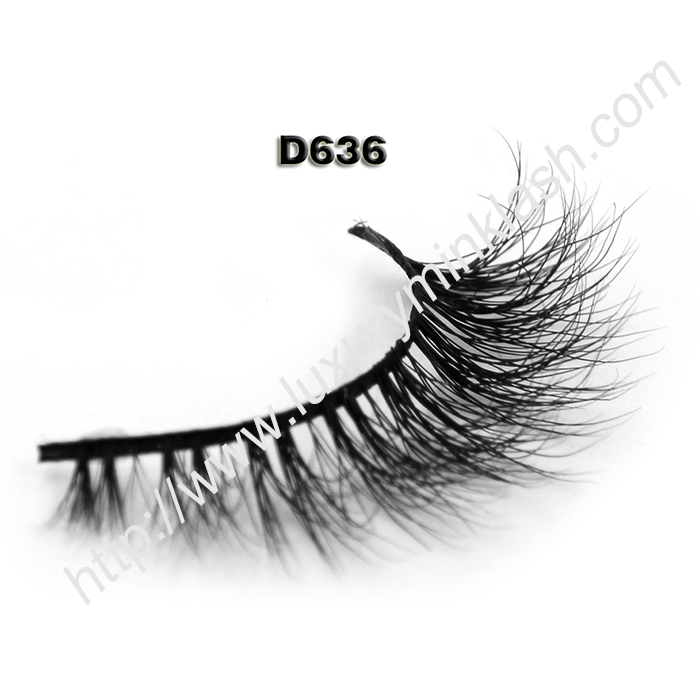 Wholesale Private Label 3D Mink Lashes D636