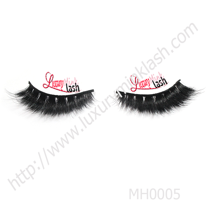 Cheap price wholesale horse fur eyelashes