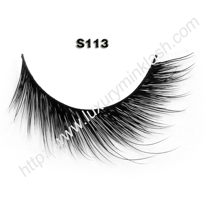 China Faux Mink Eyelashes S113