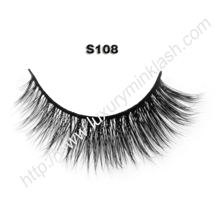 China Faux Mink Eyelashes wholesale S108