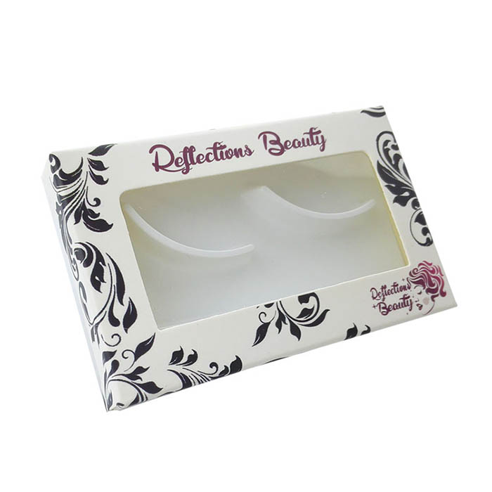 Custom Lash Paper Packaging with Window