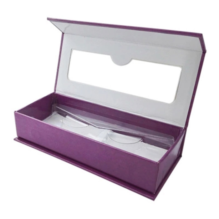 Quality Paper Eyelashes Box with Window