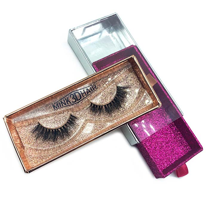 Custom Clear Eyelash packaging box