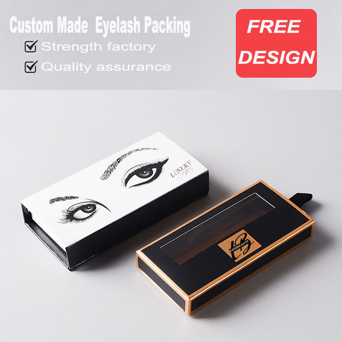 Custom Lashes Packaging