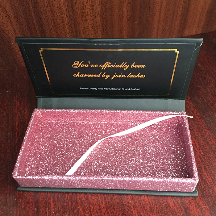 Private Label Custom Mink lashes Packaging BOX 003