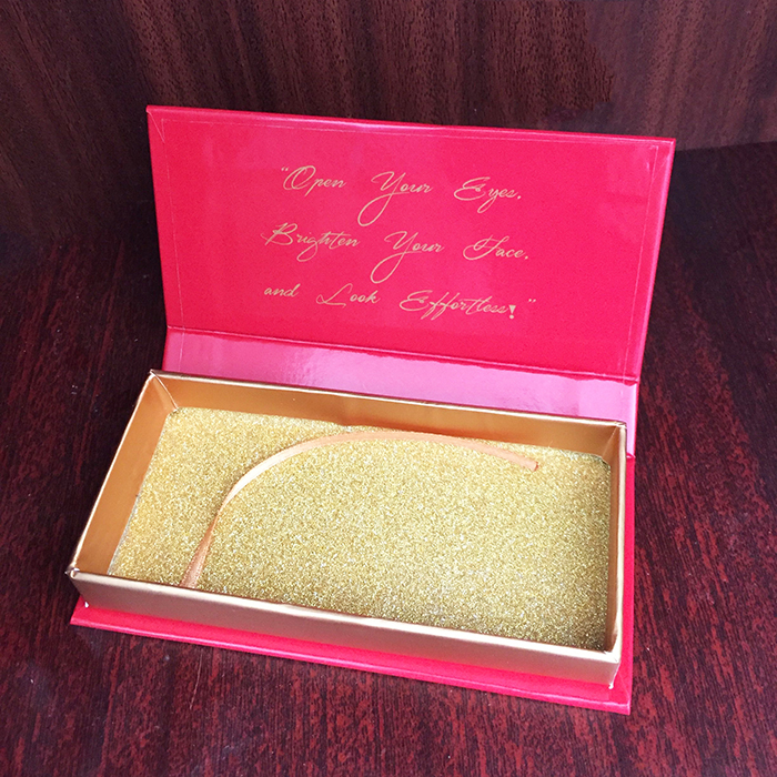 Private Label Custom Mink lashes Packaging BOX 001