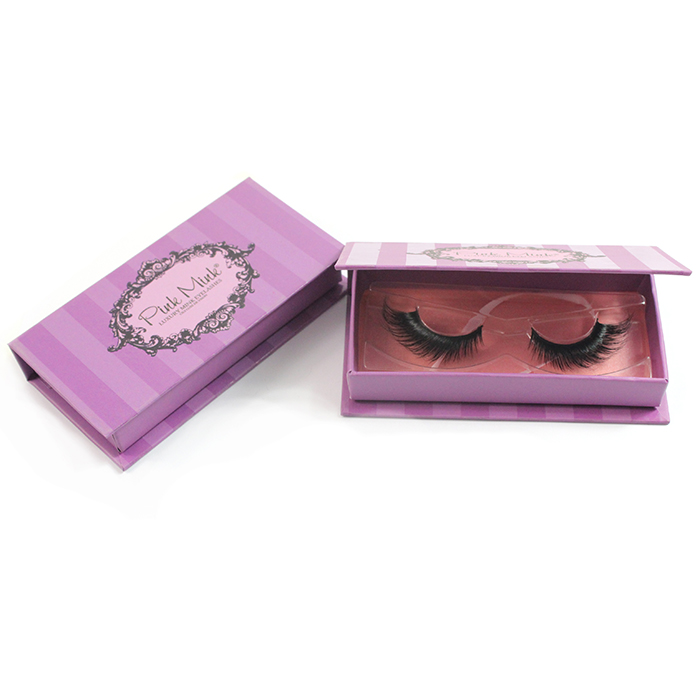 Private Label Custom Mink lashes Packaging BOX 013