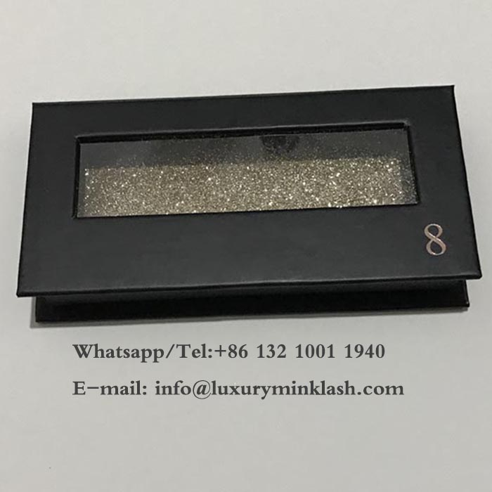 Eyelash Box with Clear PVC window