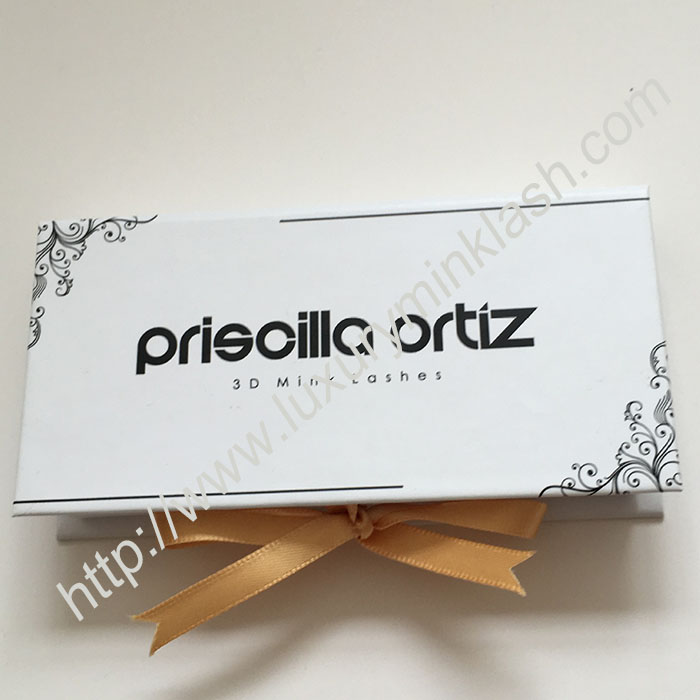 3D Silk Eyelashes Package Box