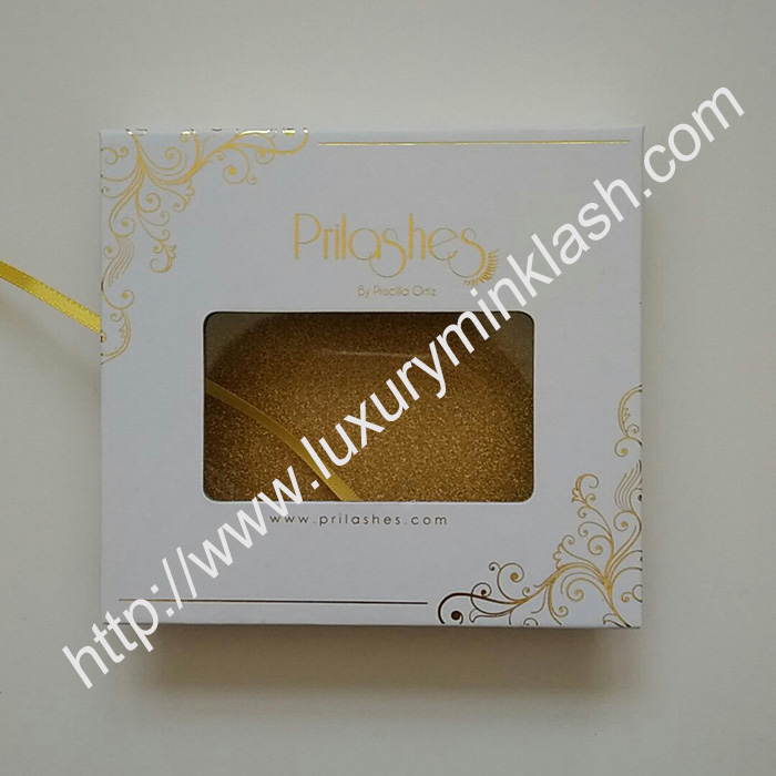 Private Label Custom Eyelash Packaging 2Pairs