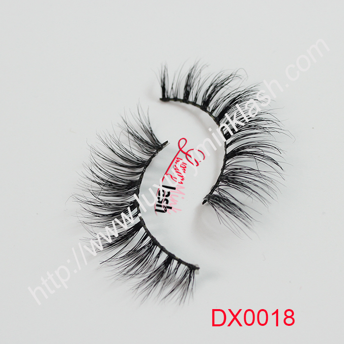 Factory design private labeling beauty 3d mink lashes