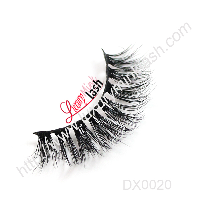 Factory new design double eyelashes 3d mink lashes