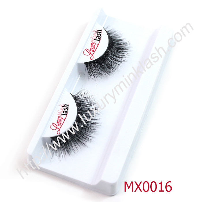 False eyelashes with private label