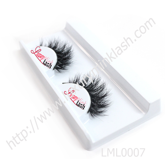 Faux mink fur eyelashes