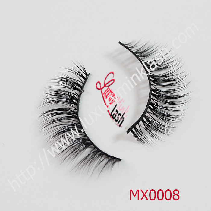 Hand made 100% real mink false eyelashes