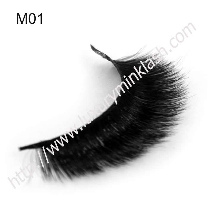Super Soft 3D Horse Hair False Lashes