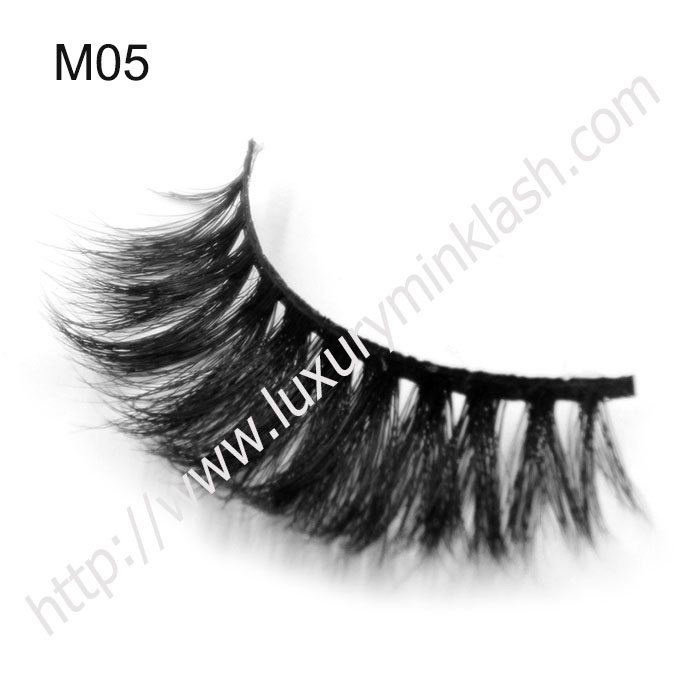Excellent Quality Black Real Curly Horse Hair Lashes