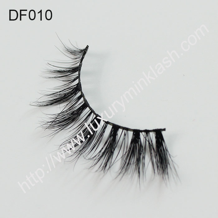 Hot Selling 3D Mink Strip Lashes DF010