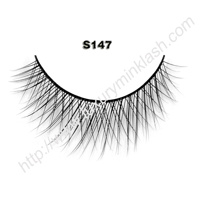 Hot Selling Natural mink lashes S147