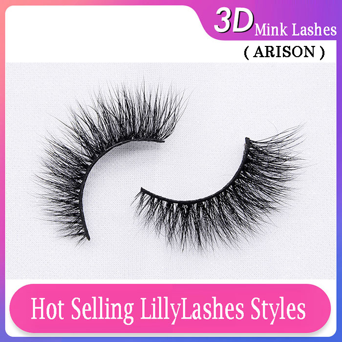 ARISON LASHES LILLYLASHES STYLES