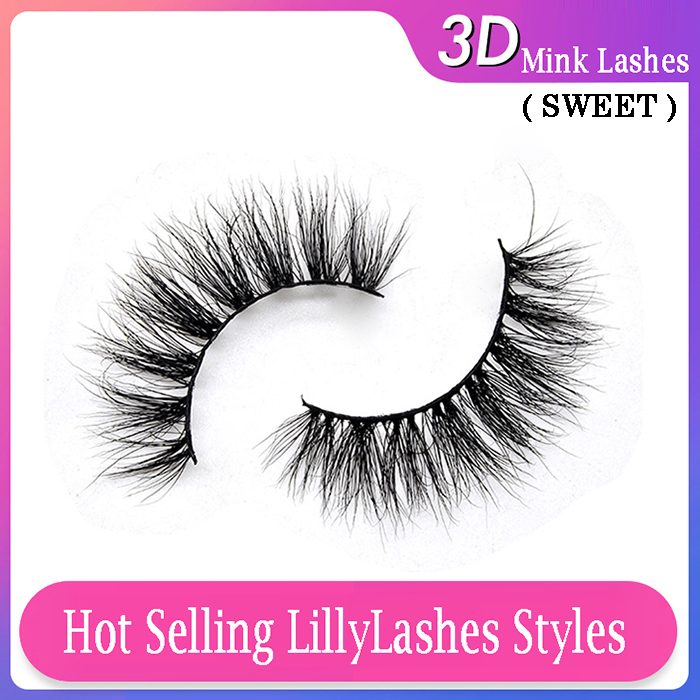 Hot selling 3d mink Lillylashes