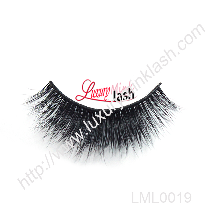 Hot selling natural siberian mink eyelashes