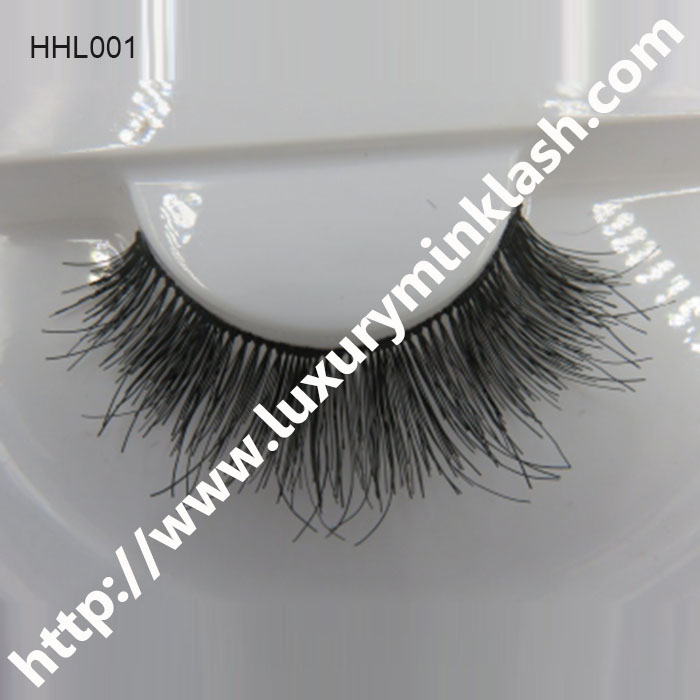 Wispy Human Hair Lashes Design