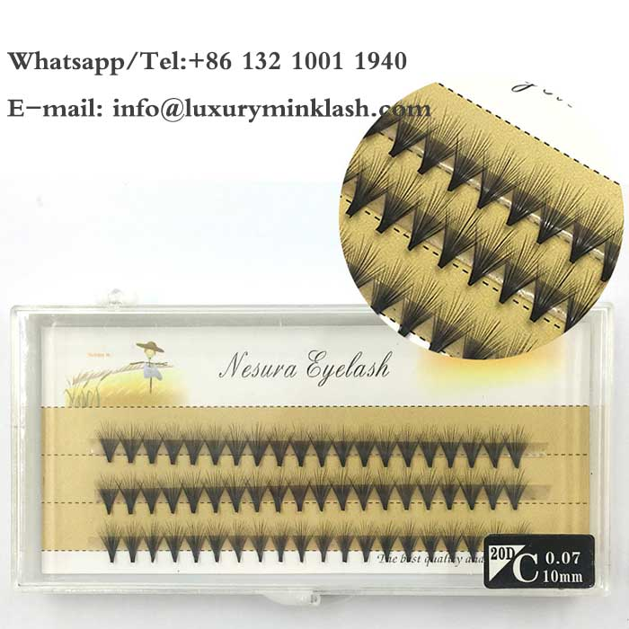 Various Sizes 5D-20D Eyelash Extension