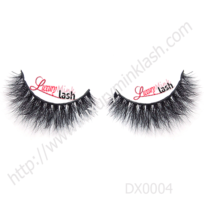 Invisible band 3D Naked Mink Lashes