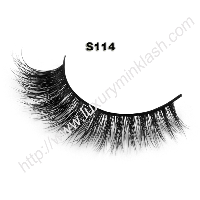Korean Faux Mink Eyelashes Wholesale S114