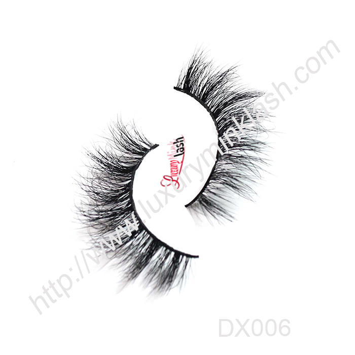 Luxury 3D Mink lashes-MX006