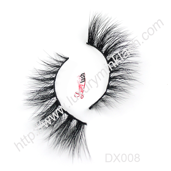 Luxury 3D Mink lashes-MX008