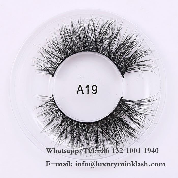 Luxury 3D mink eyelashes wholesale
