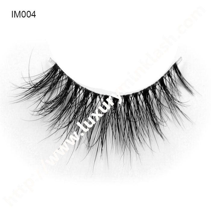 Best Seller Invisible Band Mink Lashes