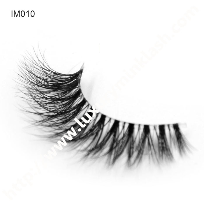 Invisible Band 3D Mink Lashes Manufacture