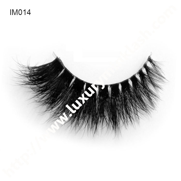 Invisible Band Mink Lashes Supplier
