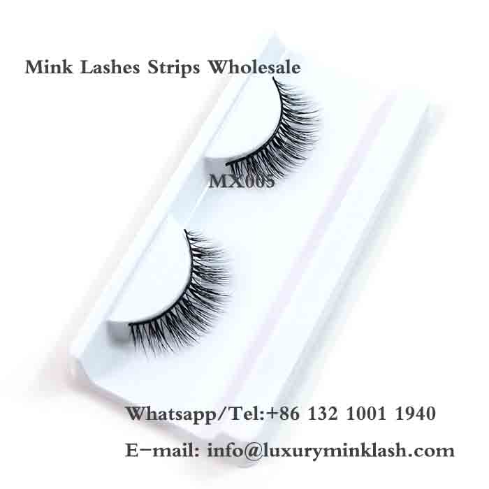 Mink Hair Strip Eyelashes Wholesale