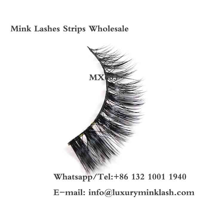 Mink Lashes Strips, China wholesale Mink Lashes Strips vendors and