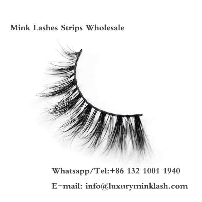 Mink Lashes Strips Wholesale
