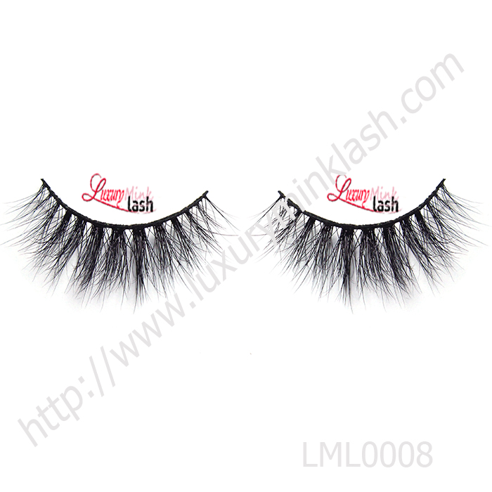 Mink false lashes