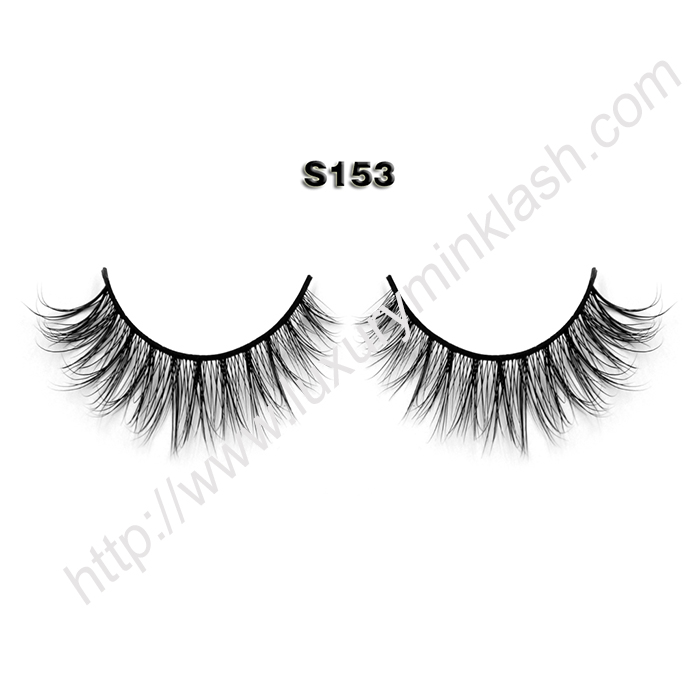 Natural mink lashes factory S153