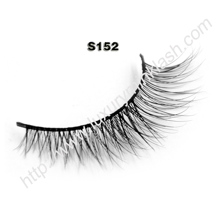 Natural mink lashes manfuacturer S152