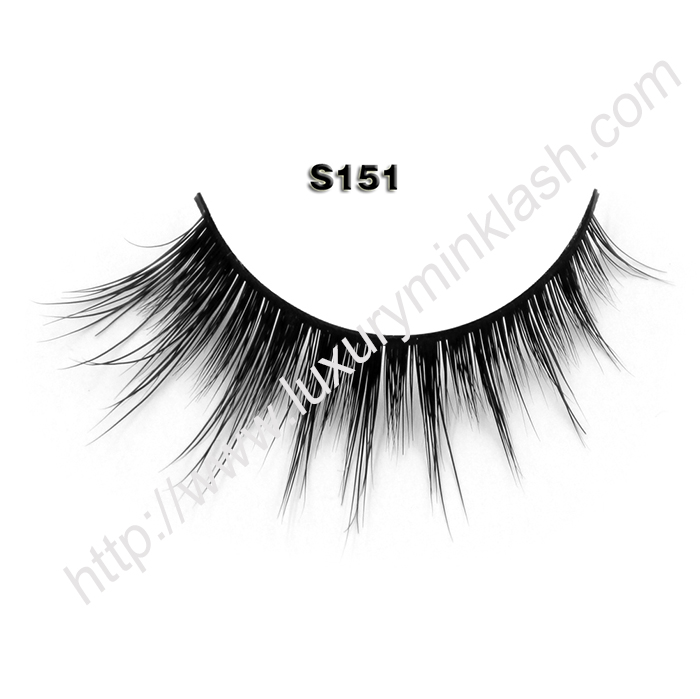 Natural mink lashes supplier S151