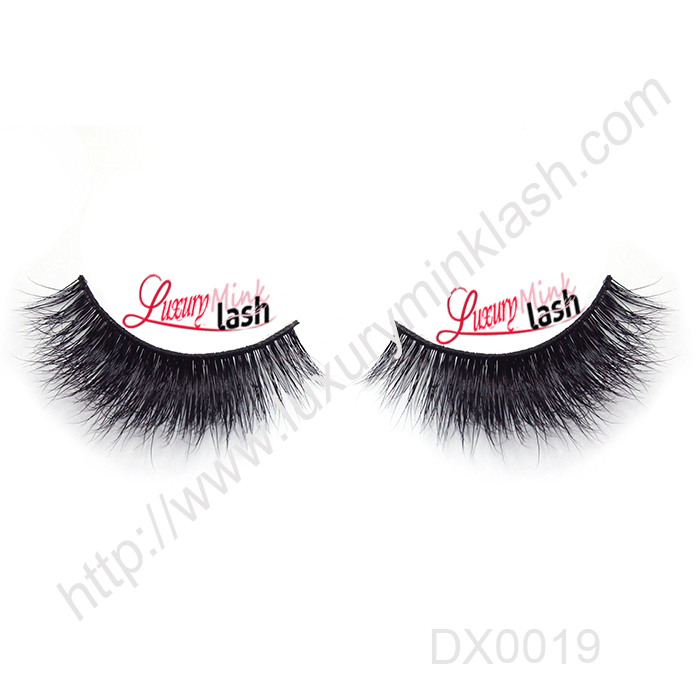 New style handmade 3d strip mink eyelashes
