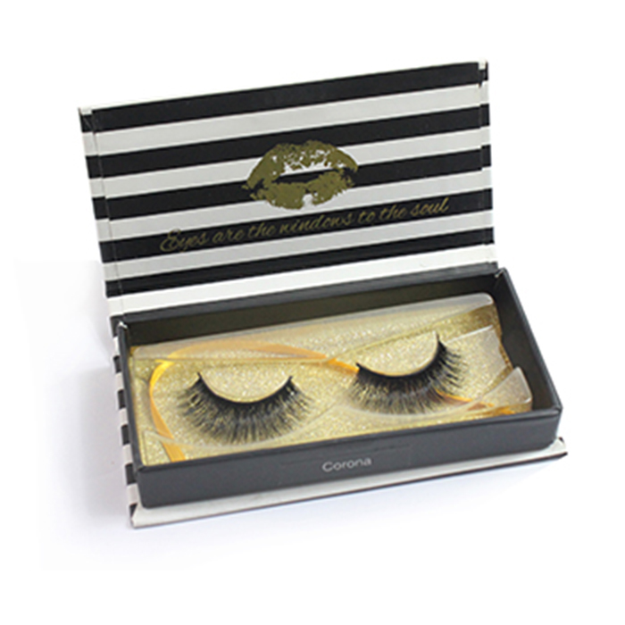 Private Label Custom Mink lashes Packaging BOX 008