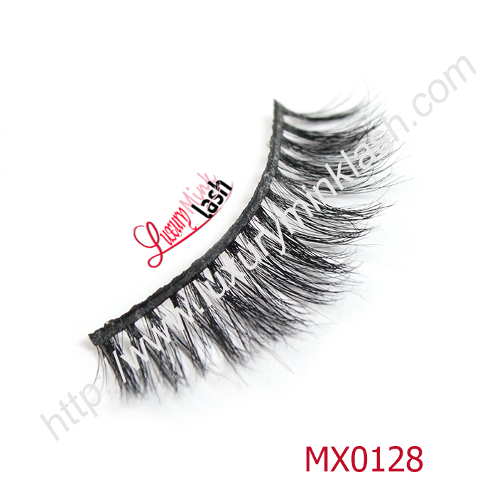 Private label luxury real mink eyelashes