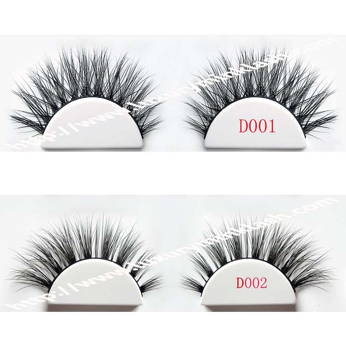 Hand Made Real Mink Fur 3D Type Eyelashes