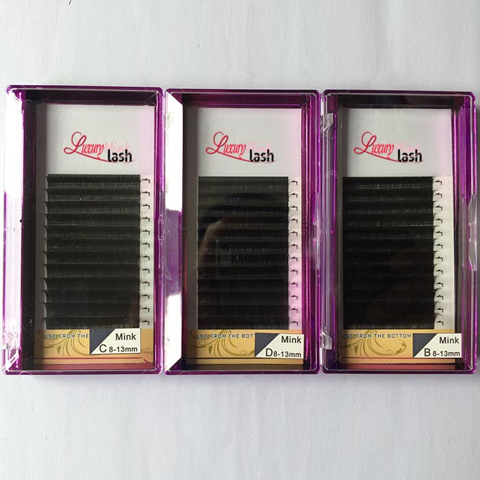 Wholesale Real mink eyelash extensions